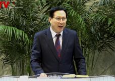 '어제를 잊고 새날을 맞이합시다' 송도가나안교회(김의철 목사)