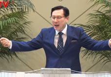 '예수의 피를 힘입어 나아가자' 송도가나안교회(김의철 목사)